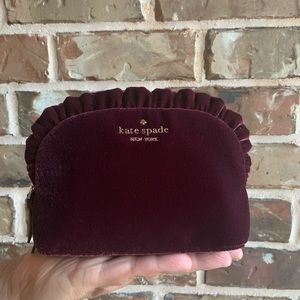 OFFERS? NEW Kate Spade Ruffle Cosmetic Bag